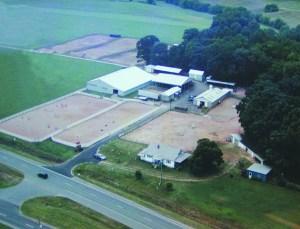 la grange arial photo